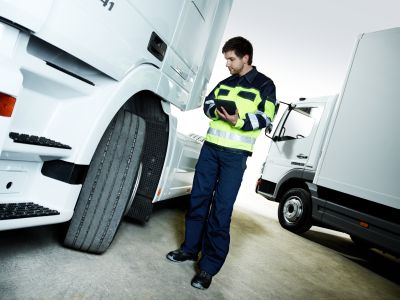Reifenmanagement für KFZ und LKW.